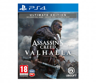 Assassins Creed Valhalla Ultimate Edition (GRA PS4)