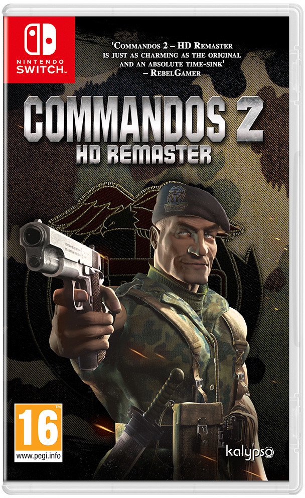 Commandos 2 - HD Remaster (GRA NINTENDO SWITCH)