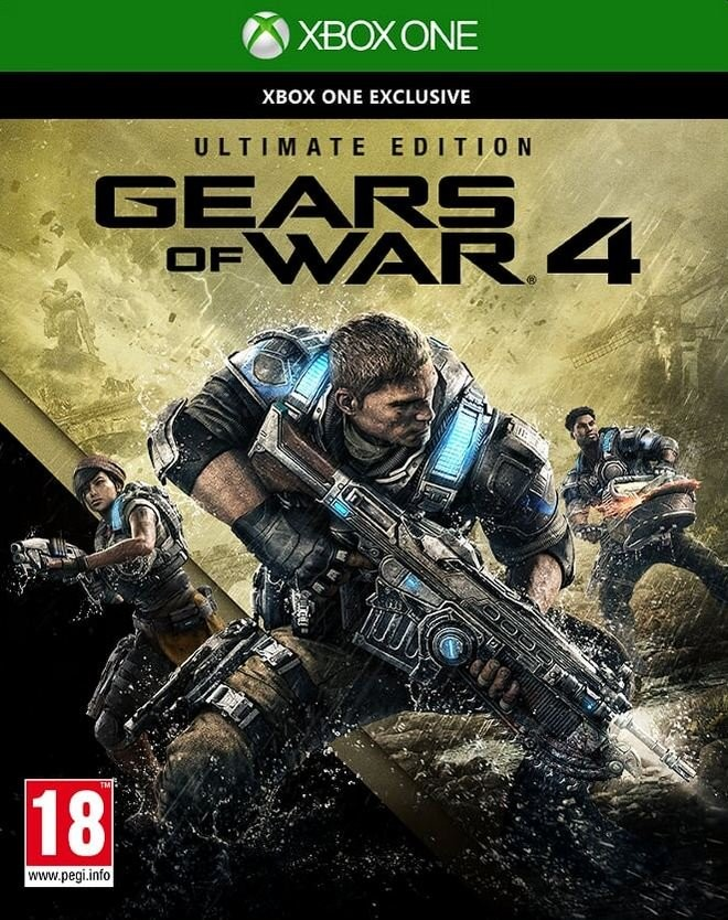 Gears of War 4 Ultimate Edition (GRA XBOX ONE)