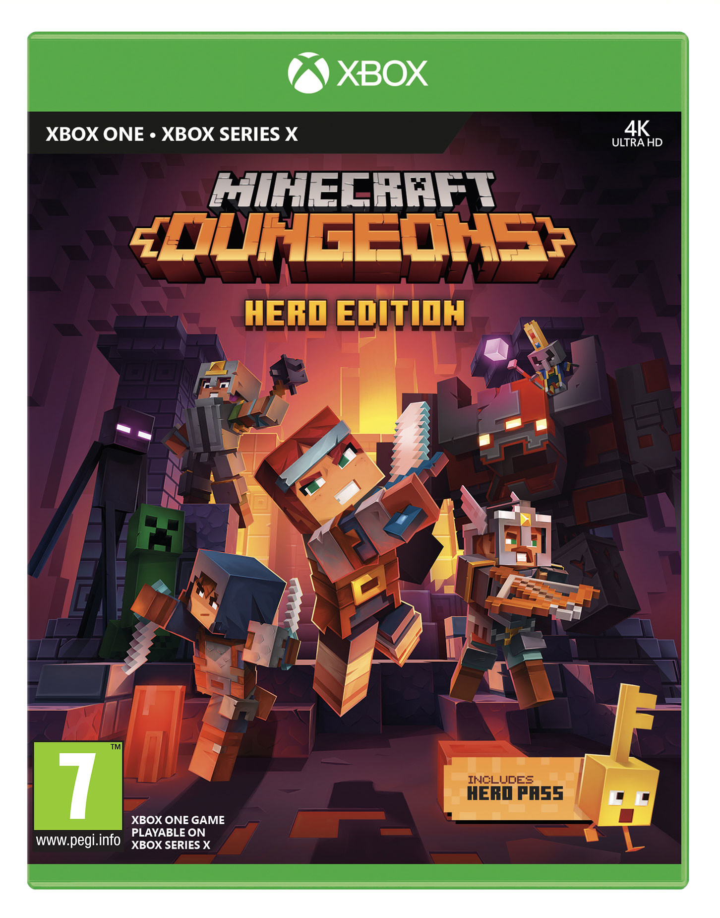 Minecraft Dungeons Hero Edition (GRA XBOX ONE)