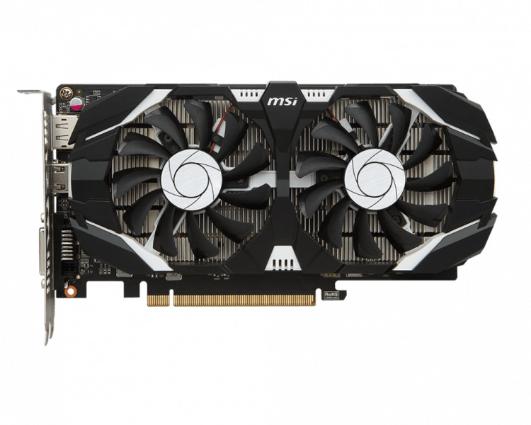 MSI GeForce GTX 1050 Ti 4GT OC VR Ready