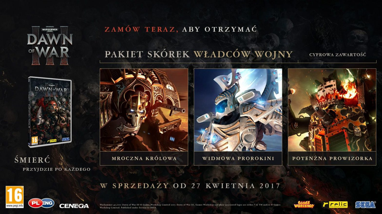 Premiera Warhammer 40,000: Dawn of War III PC