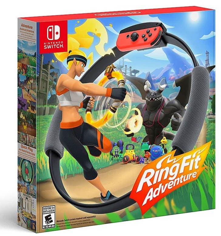 Ring Fit Adventure (GRA NINTENDO SWITCH)