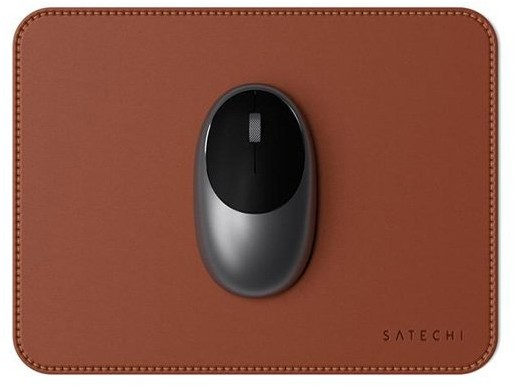 Satechi ECO Leather Mouse Pad dla Apple Magic Mouse 2 Brown (brązowy) ST-ELMPN