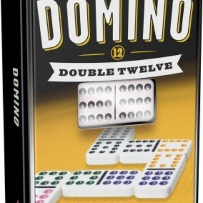 Tactic Games Domino Double Twelve (dwunastkowe puszce)