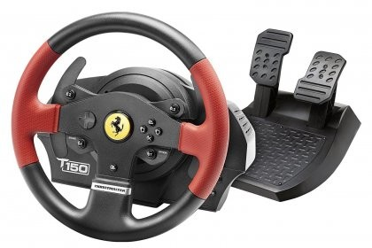 Thrustmaster Kierownica T150 Racing Wheel FERRARI Officially Licensed PS4 4160630