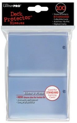 Ultra Pro Deck Protector 100 - Solid Clear