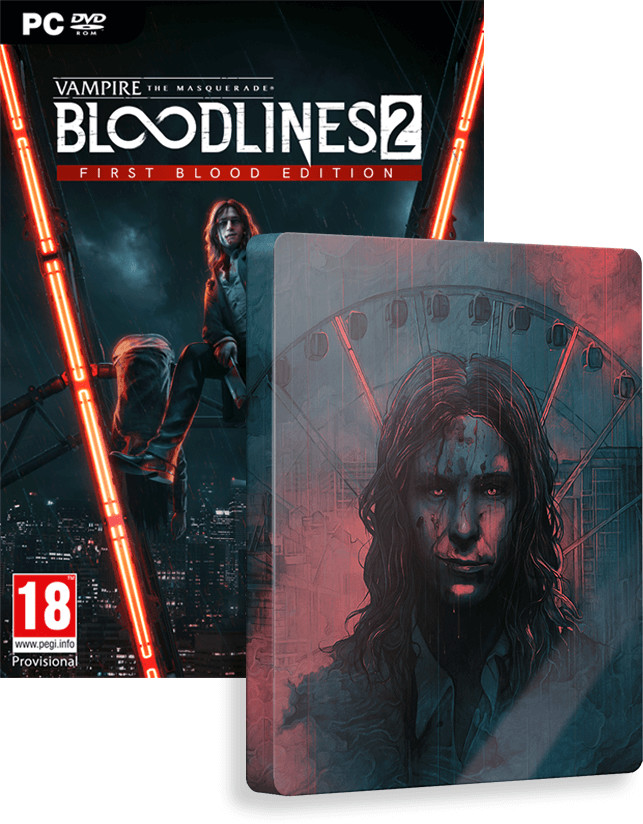 Vampire The Masquerade Bloodlines 2 - Unsanctioned Edition (GRA PC)
