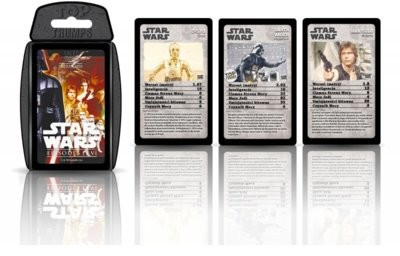 Winning Moves Gra - Top Trumps Star Wars Iv-Vi