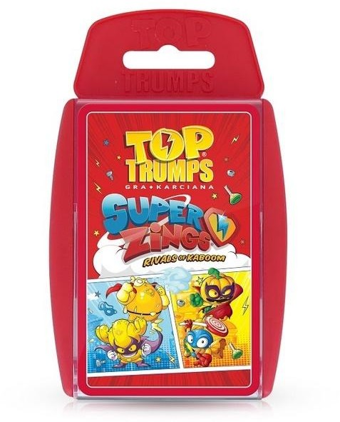 Winning Moves Top Trumps Super Zings