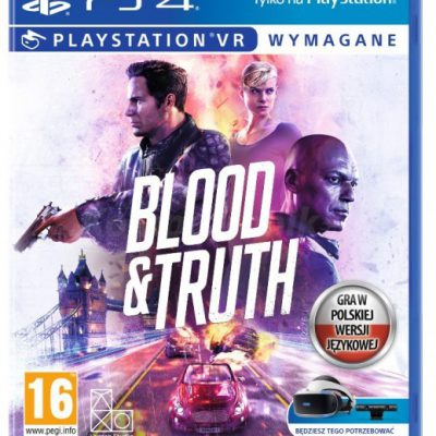 Blood and Truth PS4 VR