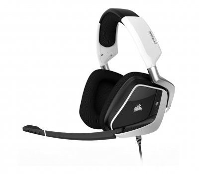 Corsair VOID RGB Wireless Dolby 7.1 Gaming Headset białe