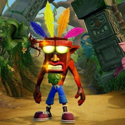 Crash Bandicoot N Sane Trilogy (GRA PS4)