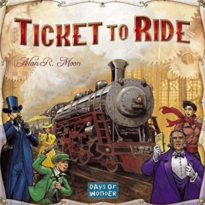 Days Of Wonder Ticket To Ride: The Cross-country Train Adventure Game