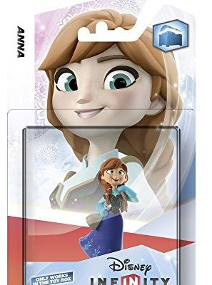 Disney New & Sealed.  INFINITY Interactive Game piece Character Anna 1057453