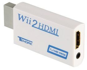 Dobe Adapter Nintendo Wii na HDMI Z wyjściem audio 3,5 mm 1080p 60023