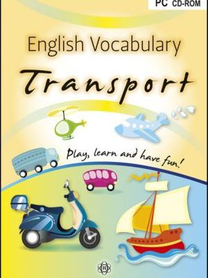 English vocabulary transport PC