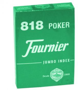 Fournier No 818 - 2 Jumbo Index Red/Blue