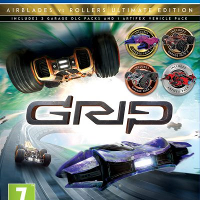 GRIP Combat Racing: Rollers vs Airblades Ultimate Edition (GRA PS4)