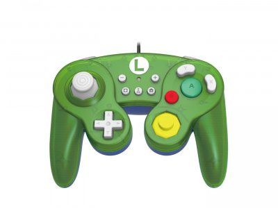 HORI SUPER SMASH BROS LUIGI (NSW-136U)
