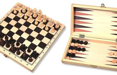 HOT Games Zestaw Szachy/Backgammon (670011)