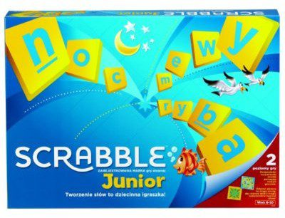 Mattel Scrabble Junior Y9735
