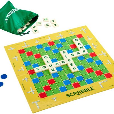 Mattel Scrabble: Practice And Play