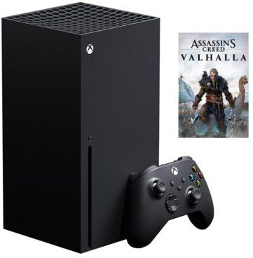 Microsoft Xbox Series X 1TB Czarny + Assassins Creed Valhalla
