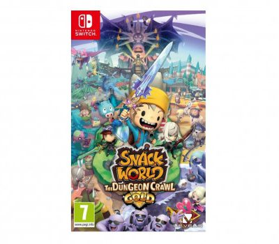 Snack World The Dungeon Crawl Gold (GRA NINTENDO SWITCH)
