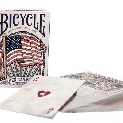 U.S.Playing Card Company Bicycle, Karty American Flag - wysyłka w 24h !!!