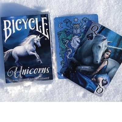United States Playing Card Company Bicycle Anne Stokes Unicorns