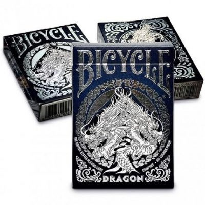 United States Playing Card Company Dragon White