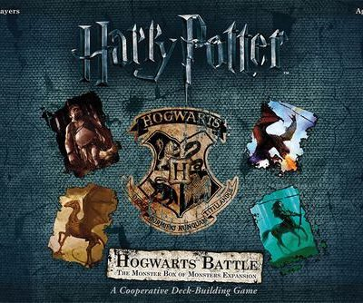 USAopoly HARRY POTTER: HOGWARTS BATTLE