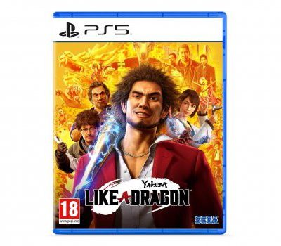 Yakuza: Like a Dragon (GRA PS5)