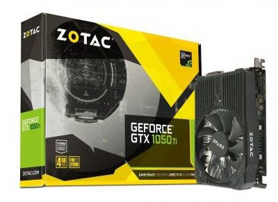 ZOTAC GeForce GTX 1050 Ti Mini VR Ready (ZT-P10510A-10L)