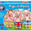 Orchard Toys Pigs w Pants ENG