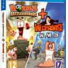 Worms Battlegrounds + Worms W.M.D (GRA PS4)